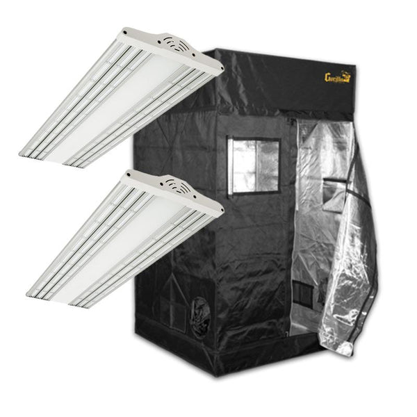 The Green Sunshine Company ES300 V2 & Gorilla Grow Tent Package Deal  - LED Grow Lights Depot