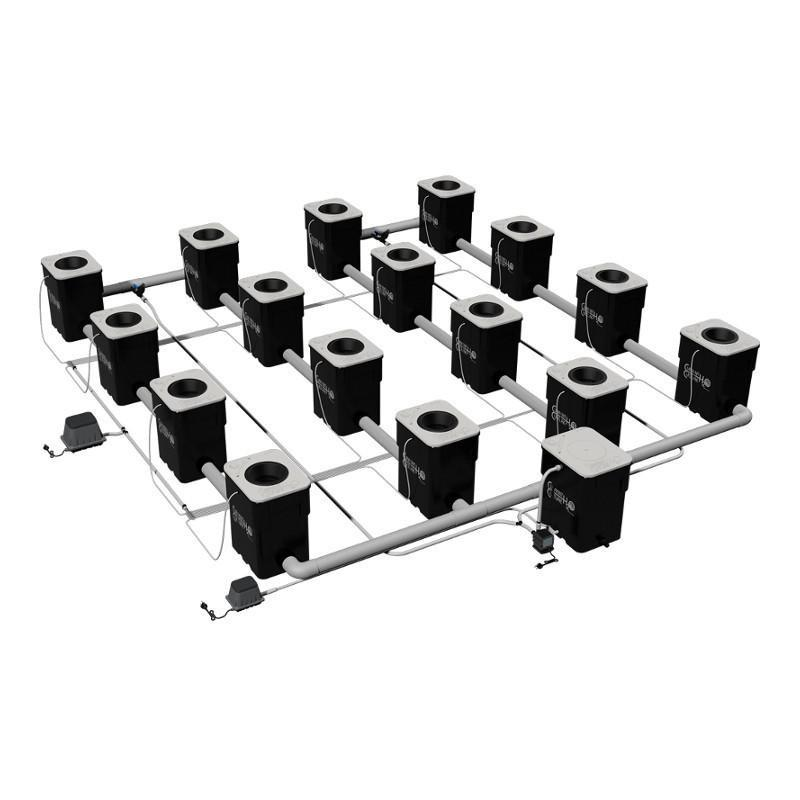 Current Culture H2O Under Current Double Barrel 16 XXL 13  - LED Grow Lights Depot