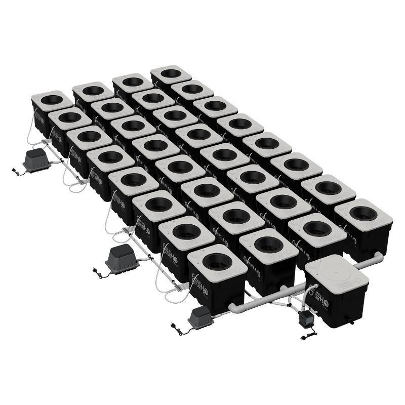 Current Culture H2O Under Current Double Barrel 32  - LED Grow Lights Depot