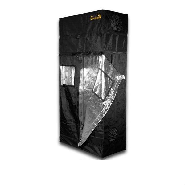 Gorilla Grow Tent 2′ x 4′ x 6′ 11″ (w/ ext. 7′ 11″)  - LED Grow Lights Depot