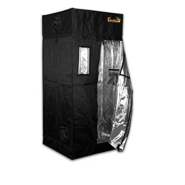 Gorilla Grow Tent 3′ x 3′ x 6′ 11″ (w/ ext. 7′ 11″)  - LED Grow Lights Depot