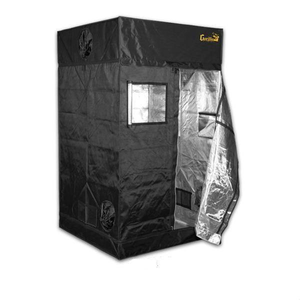 Gorilla Grow Tent 4′ x 4′ x 6′ 11″ (w/ ext. 7′ 11″)  - LED Grow Lights Depot
