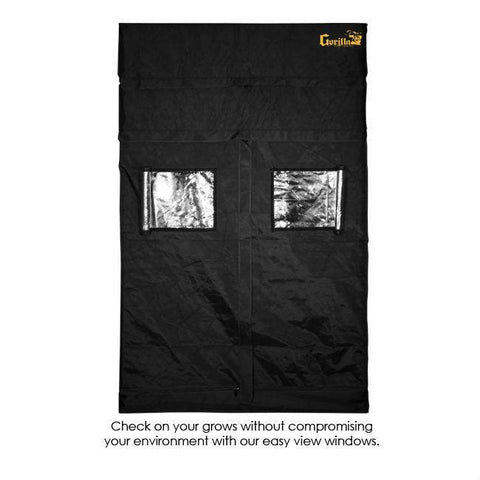 Gorilla Grow Tent 5′ x 5′ x 6′ 11″ (w/ ext. 7′ 11″)  - LED Grow Lights Depot