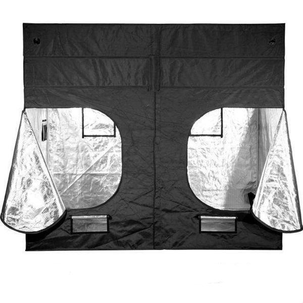 Gorilla Grow Tent 9′ x 9′ x 6′ 11″ (w/ ext. 7′ 11″)  - LED Grow Lights Depot