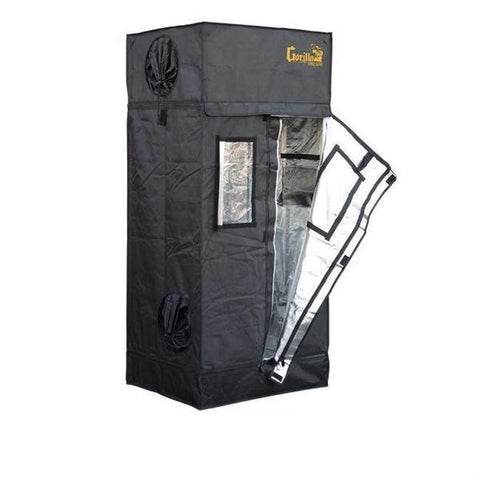 Image of Gorilla Grow Tent Lite Line 2′ x 2.5′ x 5′ 7″  - LED Grow Lights Depot