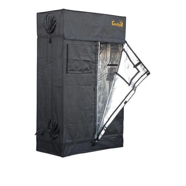 Gorilla Grow Tent Lite Line 2′ x 4′ x 6′ 7″  - LED Grow Lights Depot