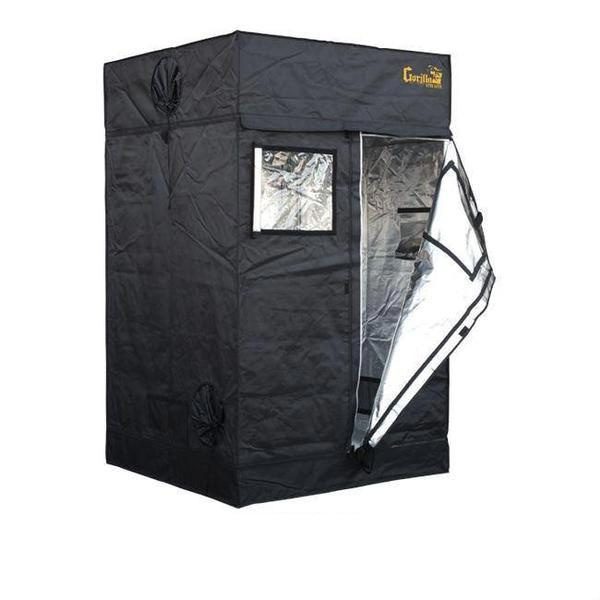 Gorilla Grow Tent Lite Line 4′ x 4′ x 6′ 7″  - LED Grow Lights Depot