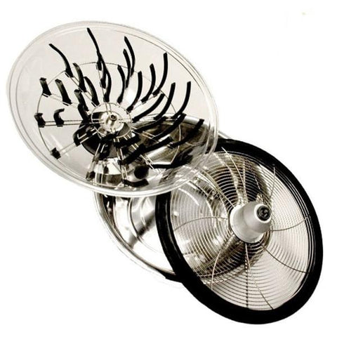 DL Wholesale 24'' Clear Top Bowl Trimmer  - LED Grow Lights Depot