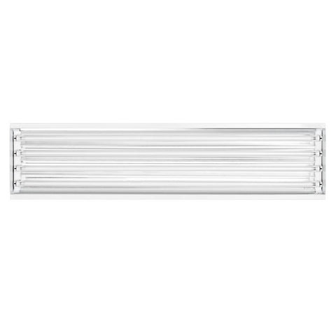 Toggled 4-Light 4-ft Grow Light Fixture w/ LED tubes - 64 watts  - LED Grow Lights Depot