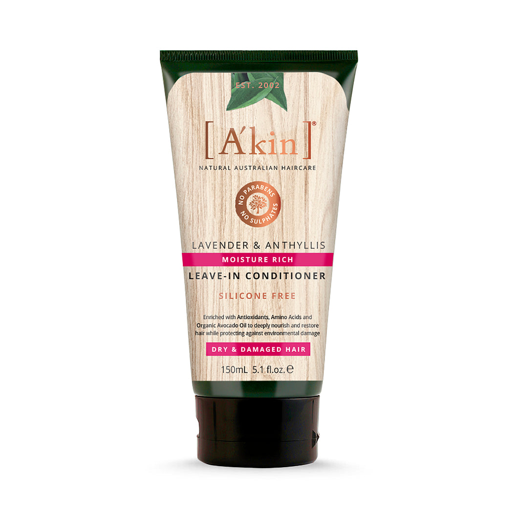 [A'kin] Moisture Rich Lavender & Anthyllis Leave-In Conditioner