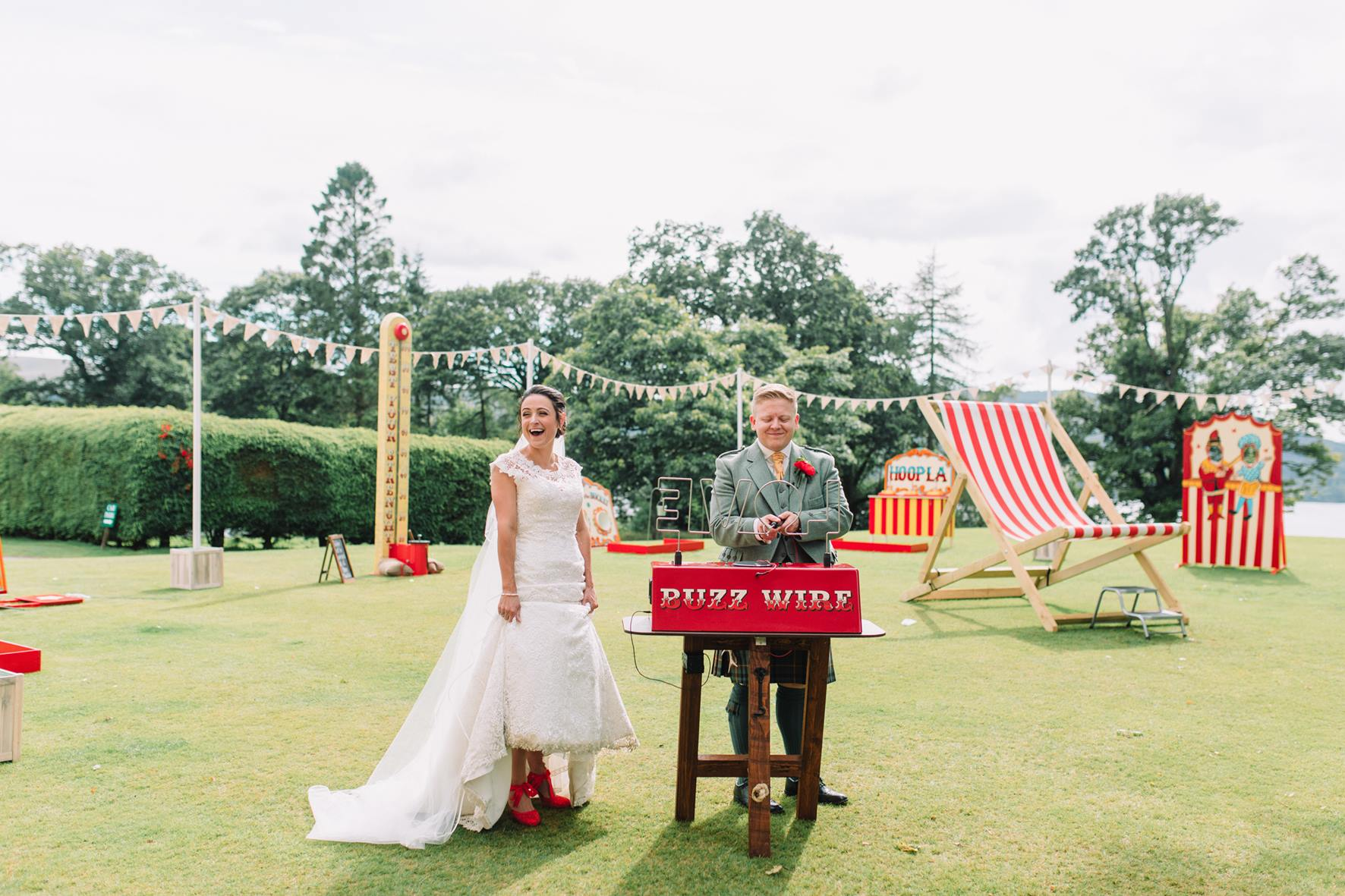 Carnival Games to hire at wedding