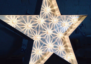 2ft Light Up Stars for hire