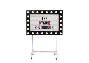 Retro Cinema Signs available to hire