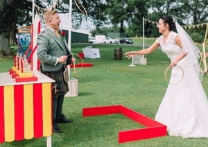 Hoopla Games for Wedding Drink Receptions