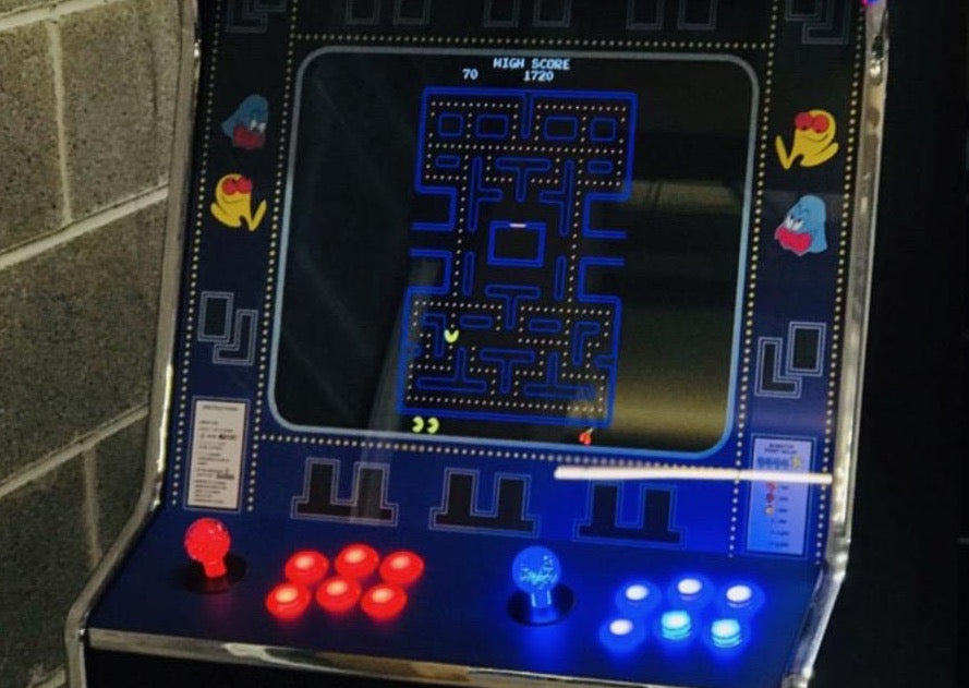 Pac-Man Arcade Games for HIre Glasgow