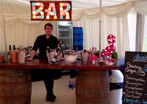 Whiskey Barrel Hire for Events