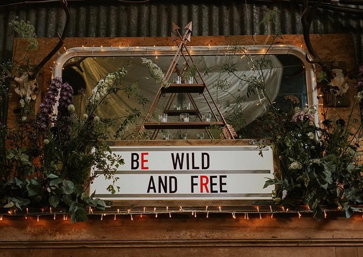 Rustic Style Signage for Hire