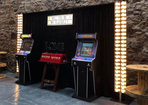 Arcade Games for Weddings at Kinkell Byre
