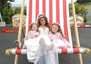 Giant Deckchair Hire for Weddings