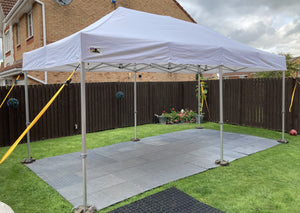 Pop Up Gazebo and Flooring For Hire