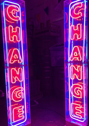 Vintage Neon Signs for Hire