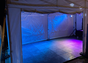 Back Garden Party Tent Hire Glasgow