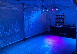 Silent Disco Party Tent Hire Glasgow