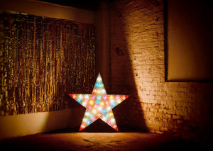 5ft Light Up Stars for Hire