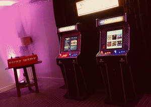 Arcade Games at House For An Art Lover Wedding