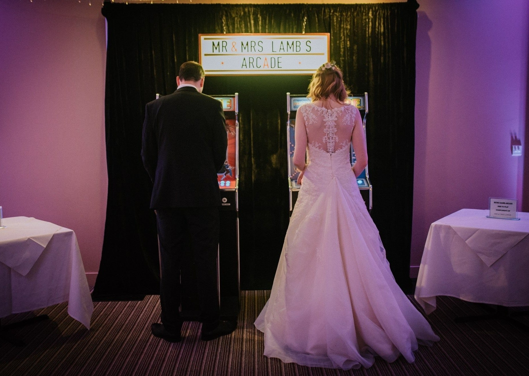 Arcade Games for Weddings