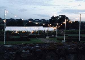 Outdoor Festoon Walkway for Hire