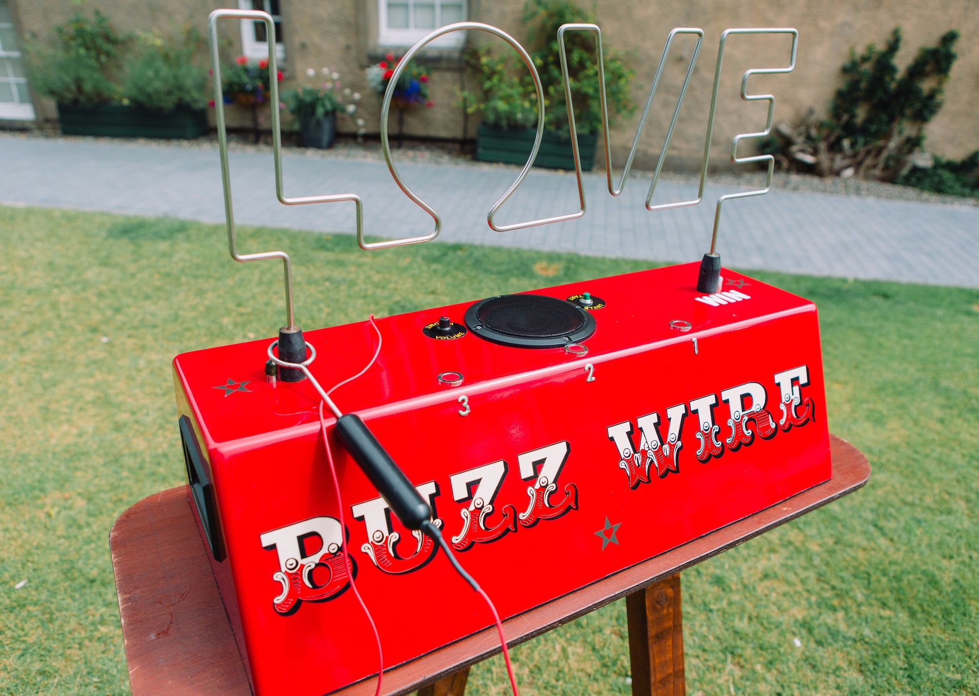 Buzz Wire Game Hire at Weddings