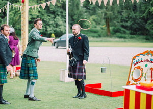 Fun & Games at wedding reception
