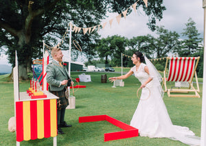 Bride & Groom Carnival Games fro wedding