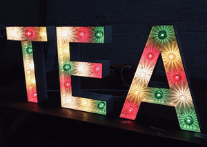 Light Up Letters made to order Glasgow