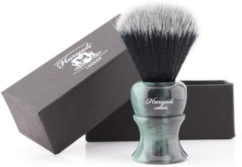 Haryali Luxury Black Hair with White Tip Clean Shave Tool