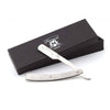 Elegant Men's Shaving Synthetic Black Hair Brush