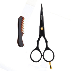 "Haryali Black 5"" Beard & Moustache Hair Trimming Scissor"