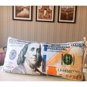60cm Funny USD EUR Money Plush Pillow Stuffed Cushion Simulation Pound Dollar Cushion for Sofa Bed Pillow Home Decor Gift