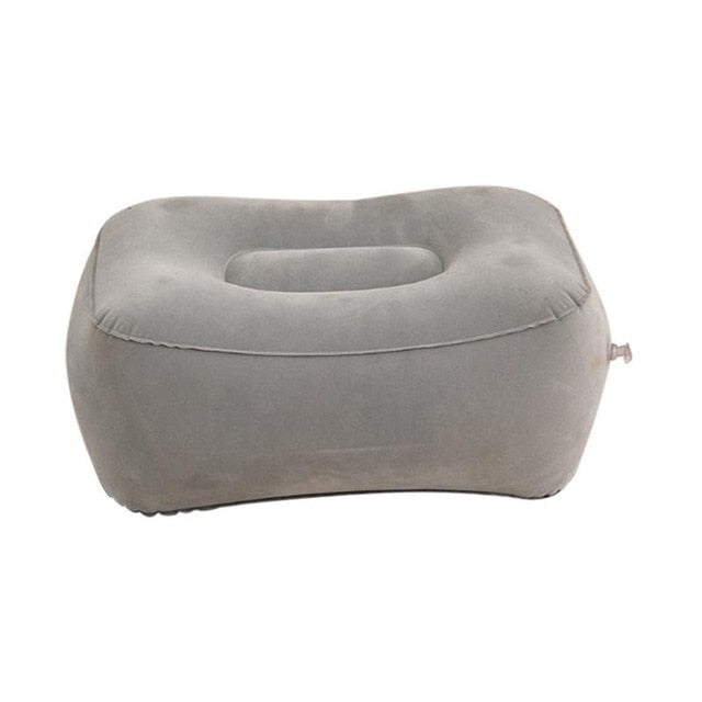 Hot Useful Inflatable Portable Travel Footrest Pillow Plane - PillowsandBedStuff