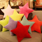 45x45cm Star Throw Pillow Stuffed Plush Doll Toy Gift Back Cushion Sofa Car Cushion Throw Pillow Decorative Cushion Home Textile