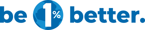 Be 1% Better - 1% For The Planet Logo