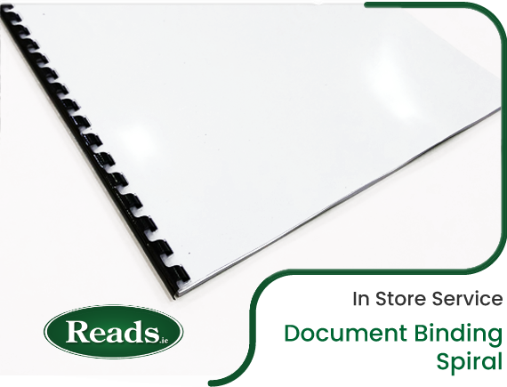 In Store Service: Binding - Spiral