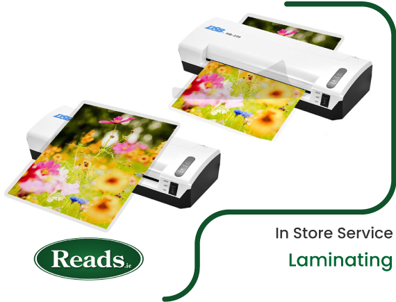 In Store Service: Laminating