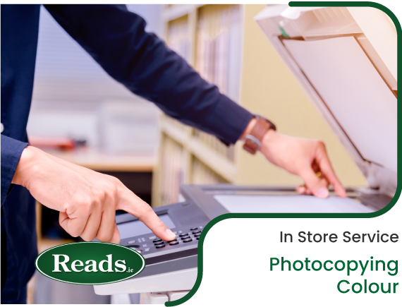 In Store Service: Photocopying - Colour