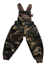 Load image into Gallery viewer, Boys Dungaree Camo