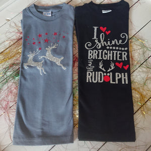 Christmas T Shirts 4-5 years