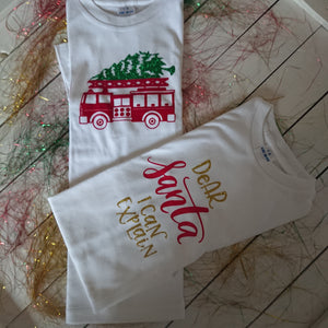 Christmas T Shirt 7-8 years