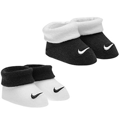 Nike Black and white socks (two pairs)