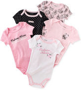 Load image into Gallery viewer, Calvin Klein Baby girls Bodysuits- pink and black